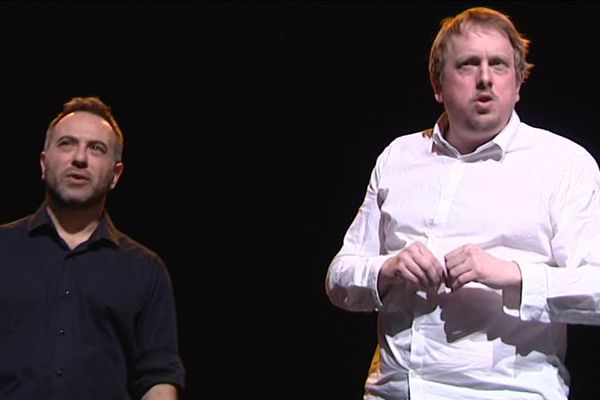 1er festival d'improvisation au théâtre de Grasse