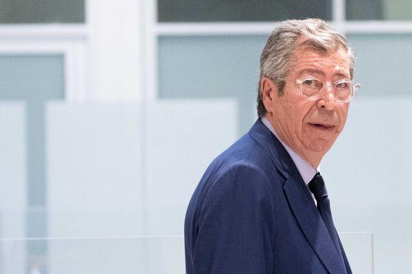 Patrick Balkany, lors de son procès pour blanchiment de fraude fiscale au TGI de Paris, en juin.