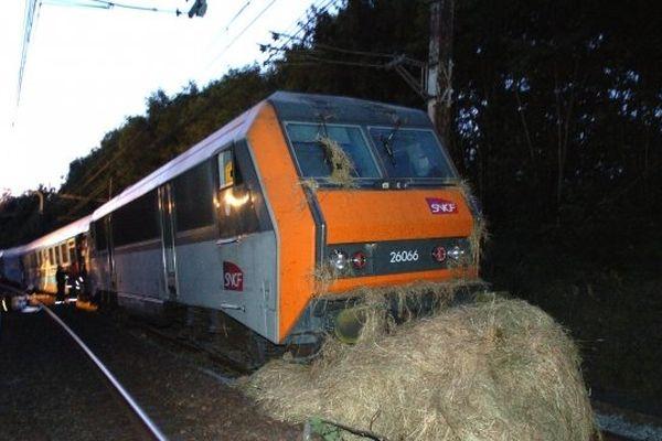 Accident train Paris-Cahors - Entre le Vigen et Boisseuil ( 3 juillet 2009)