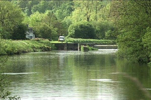 L'écluse de Coat Pont à Pont Coblant