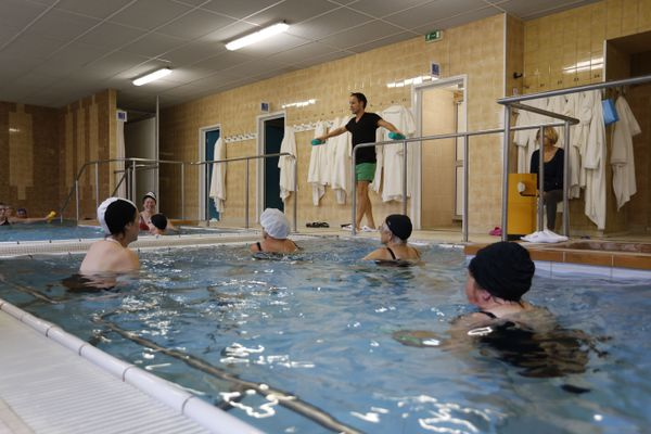 A l'heure de la réouverture, les curistes ont plus réserver de places cette année qu'à la sortie du premier confinement en 2020, aux thermes de Bourbonne-les-Bains.