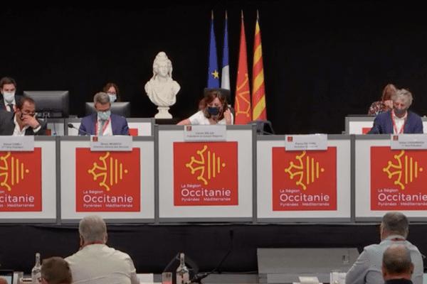 La région Occitanie a voté le 16 juillet, à Montpellier, l'augmentation de l'indemnité des conseillers régionaux. 2021.