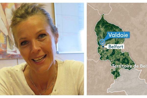 Corinne Coudereau, maire de Valdoie dans le Territoire de Belfort