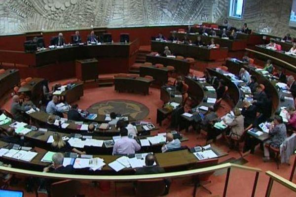 Hémicyle  - Conseil régional Centre-Val de Loire