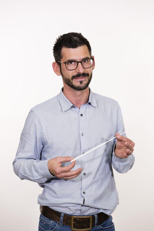 """Jérôme Prêcheur, fondateur de la start-up """"Med in Town"""" à Saint-Etienne"""