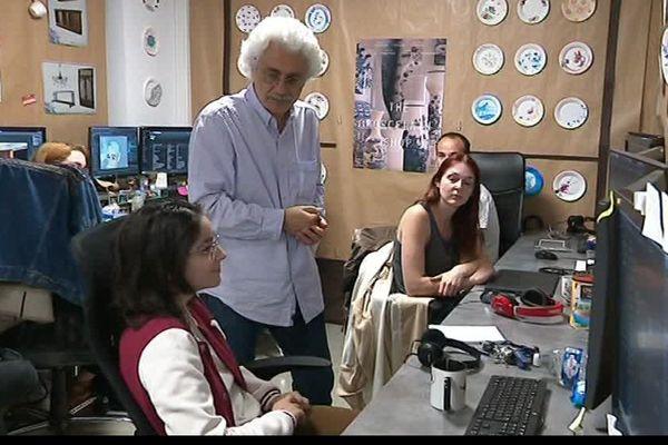 Kristof Serrand, directeur de l'animation chez dreamworks, était en visite à l'ESMA de Montpellier - 12 avril 2017