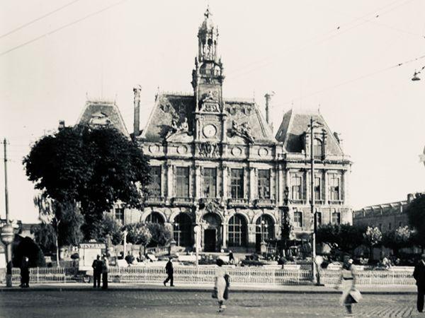 L'Hôtel de Ville de Limoges en 1940