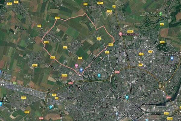 A Saint-Contest, près de Caen, un homme a été gravement brûlé pendant une saisie d'huissier.