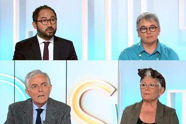 Guillaume Chiche, Geneviève Elchardus, François Méhaud et Marianne