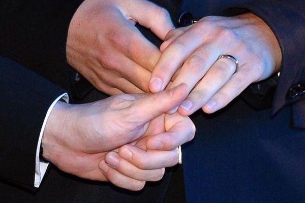 Mariage de Bruno Boileau et Vincent Autin le 29 mai 2013 à Montpellier.