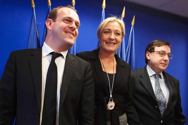 Steeve Briois, secrétaire national du Front National s'est réjoui de ce ralliement d'un UMP.