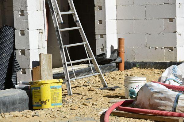 Illustration/ Le chantier, qui se trouve sur la rocade d'Ajaccio, a été arrêté.
