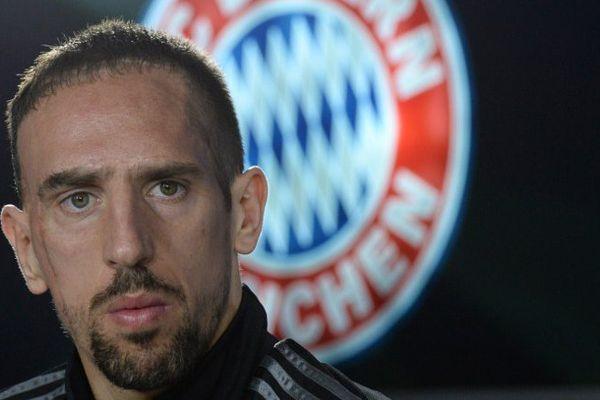 Franck Ribéry, le 10 mars 2015.
