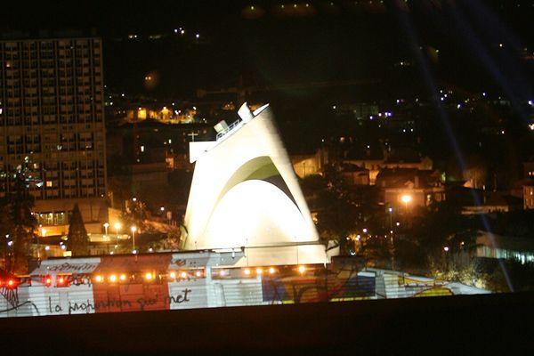 Le site Le Corbusier à Firminy dans la Loire, qui concourt pour être le Monument préféré des Français, émission présentée sur France 3