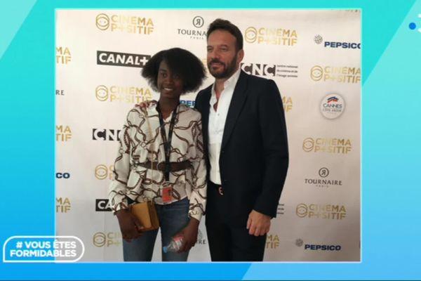 Astou Diakite et Samuel Le Bihan