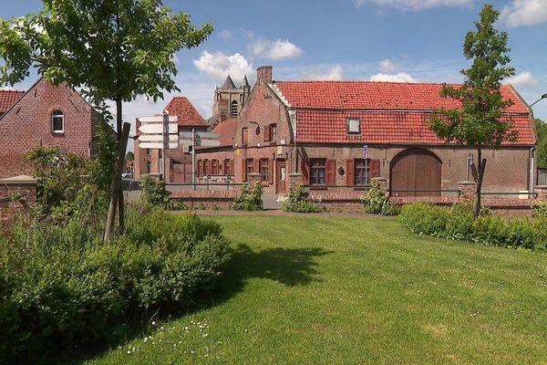 Le village de Rubrouck dans les Flandres