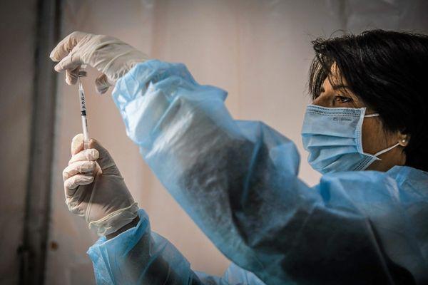 Illustration. En Corse, 25 661 premières doses de vaccin contre le Covid-19 ont été administrées à la date du 5 mars.