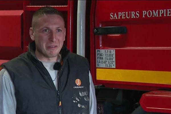 """Pompier, c'était un """"rêve de gosse"""" pour Kevin"""