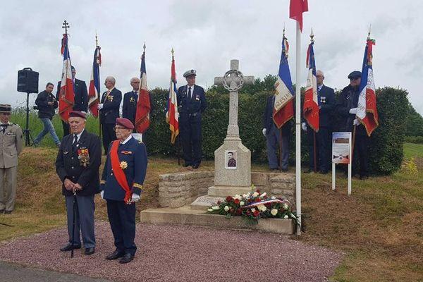 Hommage rendu au caporal Émile Bouétard à Plumelec (Morbihan) - 5/06/2019