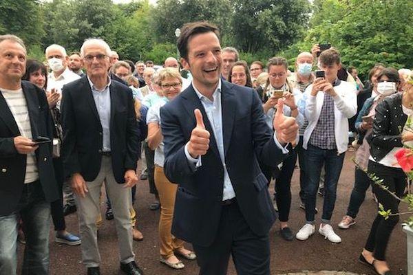 Morgan Berger élu maire de Cognac - Municipales 2020