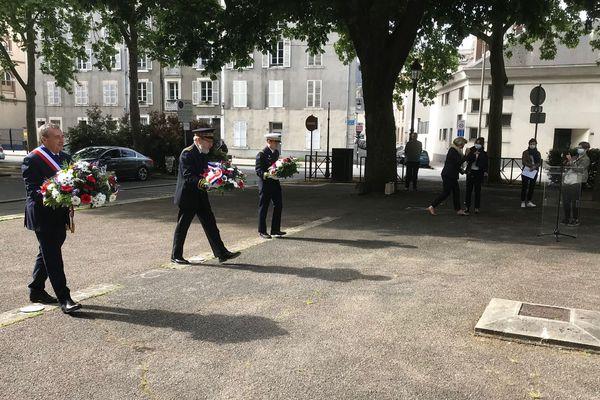 Les cérémonies du 8 mai 1945 ont été maintenues en Centre - Val de Loire malgré le confinement.
