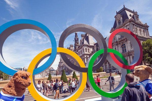 En Seine-Saint-Denis, le village olympique devrait accueillir les sportifs avec 14 000 lits pour les JO de Paris 2024 (illustration : « Journée olympique » en juin 2018 à Paris).