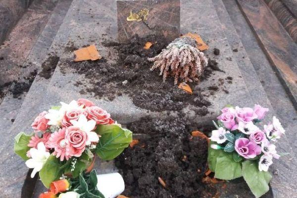 Une dizaine de tombes ont été dégradées au cimetière de Ligny-le-Chatel dans l'Yonne