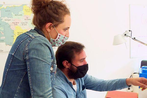 Leslie et Luc, revenus en Dordogne, valorisent leurs 15 années dans la pub en se lançant dans le cosmétique bio, un produit dans l'air du temps