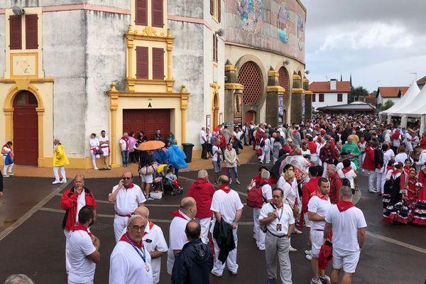 Les arènes n'ouvriront pas leurs portes ce samedi 27 juillet :  en raison du mauvais temps, la corrida est annulée.