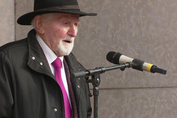 Benjamin Orenstein, un des derniers rescapés d'Auschwitz, témoin de cette horreur, a consacré sa vie à la mémoire.