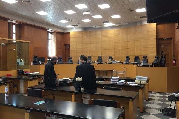 La salle de la cour d'assises de Haute-Corse.