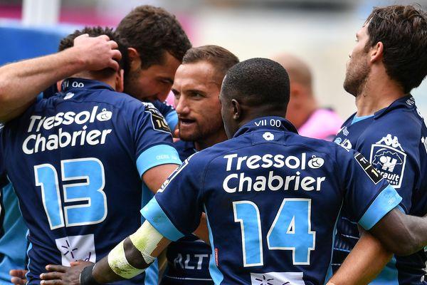 Après avoir battu le Stade Français dimanche, les Montpelliérains affronteront Clermont, samedi 25 mai. Photo d'illustration.