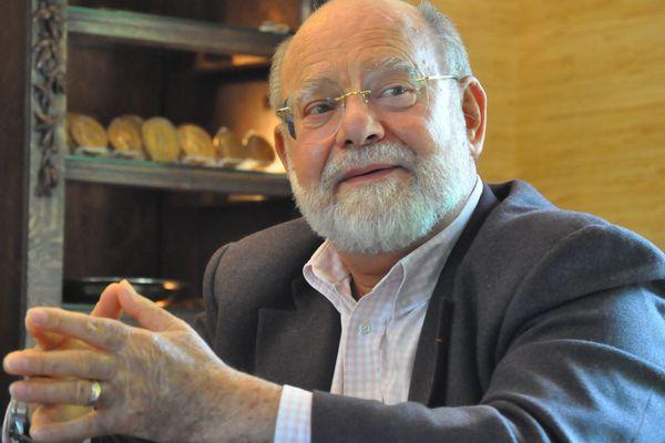 Pierre Bourguignon, maire de Sotteville-lès-Rouen.