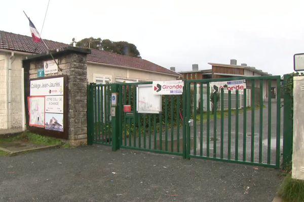 13° dans les salles de classe : les enseignants de ce collège de la rive droite de Bordeaux ont débrayé ce jeudi matin