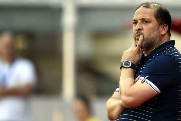 Pablo Correa, l'entraîneur de l'AJ Auxerre