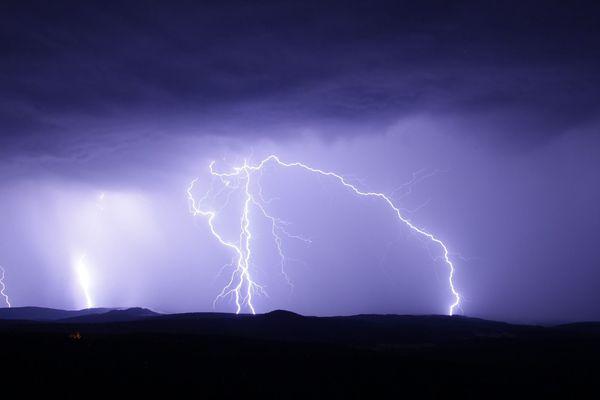 Illustration d'orages.