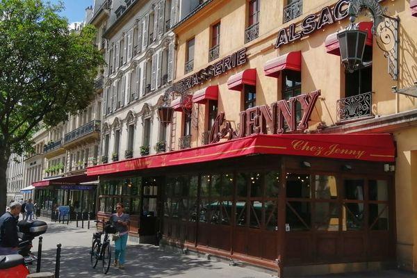 """""""Chez Jenny"""" dans le quartier République à Paris, change d'enseigne"""