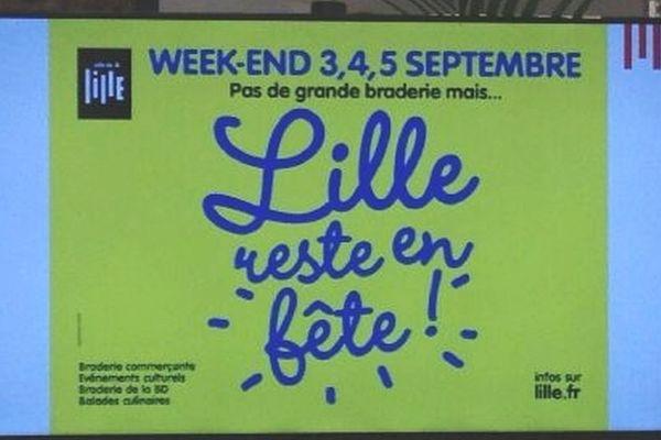 """""""Pas de braderie mais Lille reste en fête"""""""