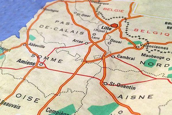 """Voici la nouvelle région """"Hauts-de-France""""."""