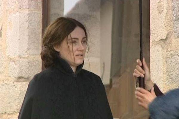 La comédienne Marine Delterme (ici à Limoges) interprète la peintre Berthe Morisot dans un film qui sera diffusé sur France 3 le samedi 16 février à 20h45 (Archives)