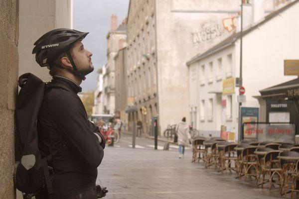 """Damien, l'un des personnages du documentaire """"Les Délivrés"""" de Thomas Grandrémy"""
