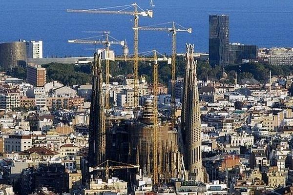 Barcelone (Espagne) - Basilique de la Sagrada Familia - 2013