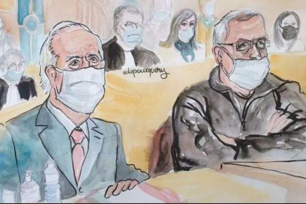 E Balladur et F Léotard étaient absents lors du délibéré de la Cour de Justice de la République