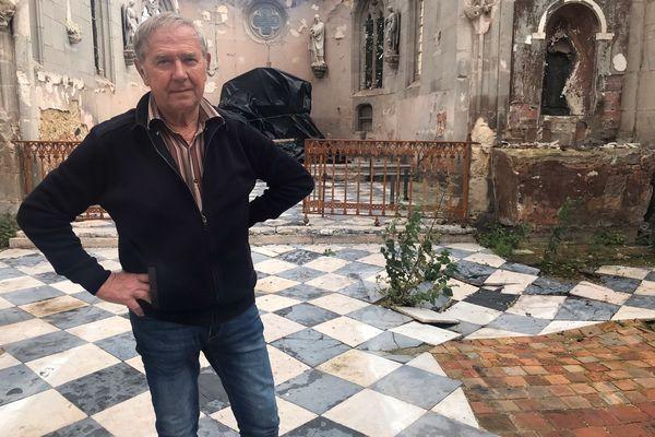 Le maire de ce village de l'Eure s'inquiète de n'avoir, pour le moment, reçu aucun centime d'aides de collectivités.