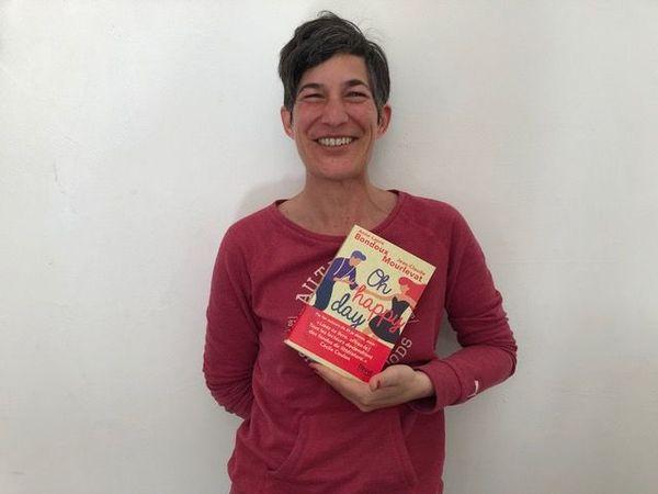 """Sandrine Dieupart de la librairie Livres en Tête de Sallanches vous recommande """"Oh happy day"""" de Jean-Claude Mourlevat et Anne-Laure Bondoux, Editions Fleuve."""