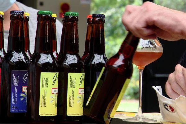 """Bières normandes au salon """"Beerdays"""" de Rouen le 3 octobre 2020 (L'abus d'alcool est dangereux pour la santé)"""