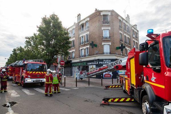 Le sinistre est survenu à l'angle du boulevard Chanzy et de l'avenue Paul Dupont.