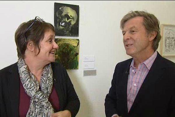 Dans LOCB rencontre avec Daniel Hurstel, collectionneur d'art, invité du Musée des Beaux Arts de St Lô