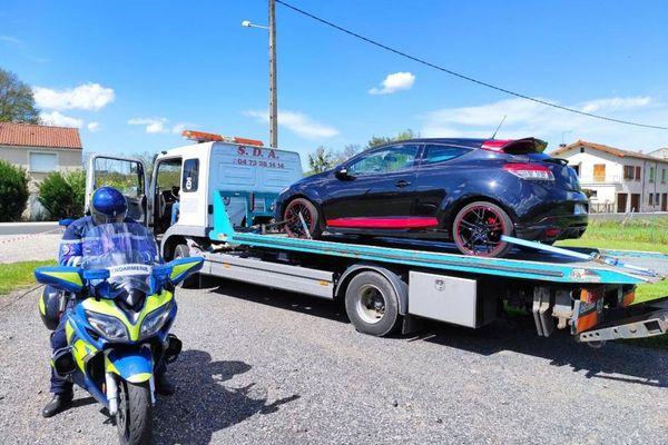 A l'occasion de contrôles routiers, les gendarmes du Puy-de-Dôme ont immobilisé plusieurs véhicules le week-end du 8 et 9 mai.