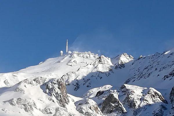 - Le Pic du Midi le 16 décembre 2017 -